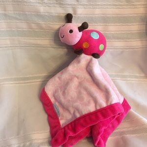 Pink ladybug baby lovey-Carter's